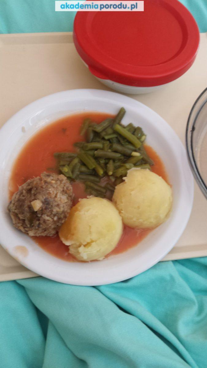 jedzenie w szpitalach - biskupiec - patologia ciąży