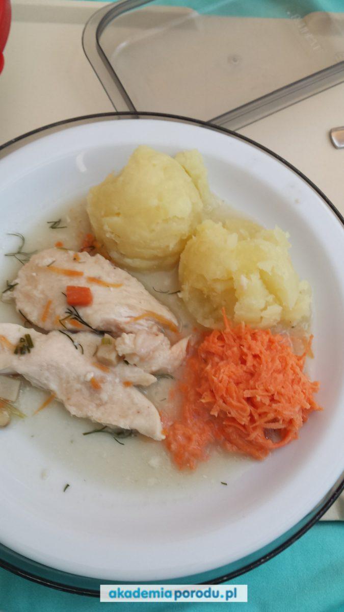 Szpital w Biskupcu - jedzenie w szpitalu - porodówka