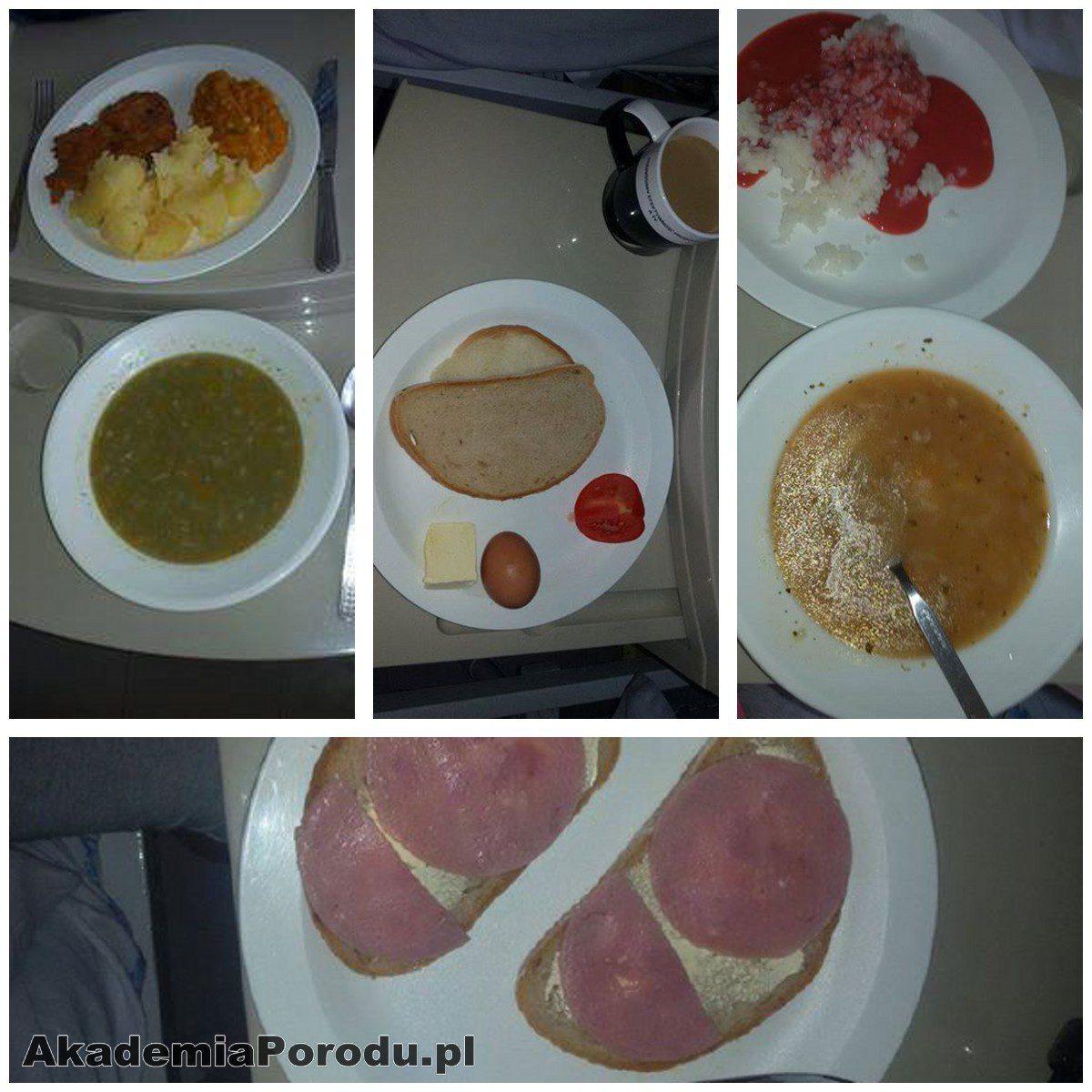 Jedzenie na porodówkach. Szpital w Pabianicach