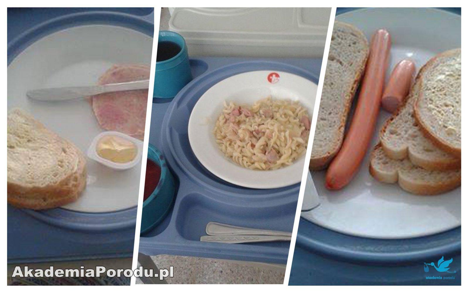 jedzenie na porodówkach - szpital w Rybniku