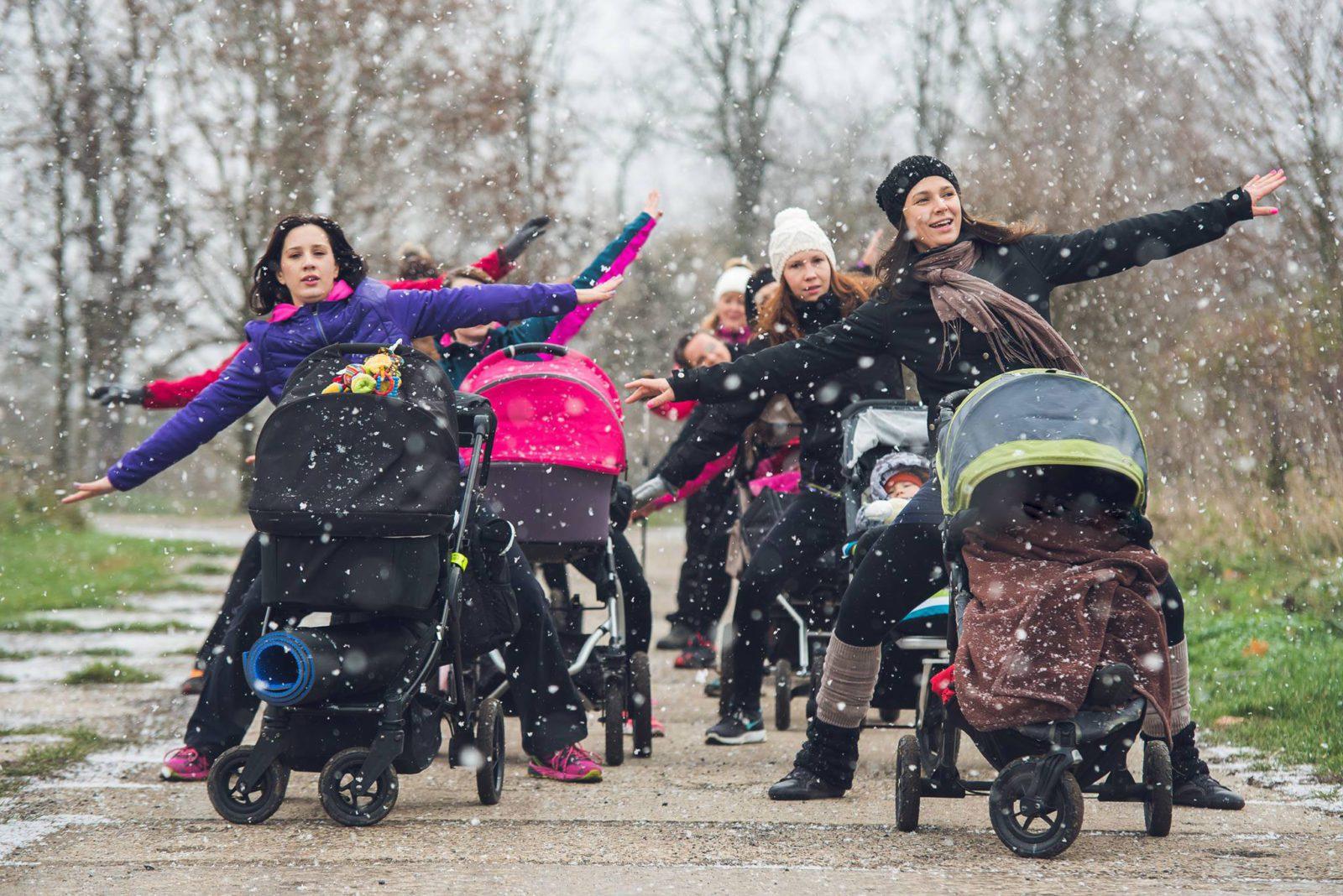 spacery z noworodkiem