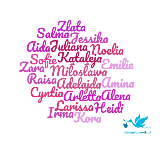 Najrzadsze imiona dziewczęce 2016 - ranking imion